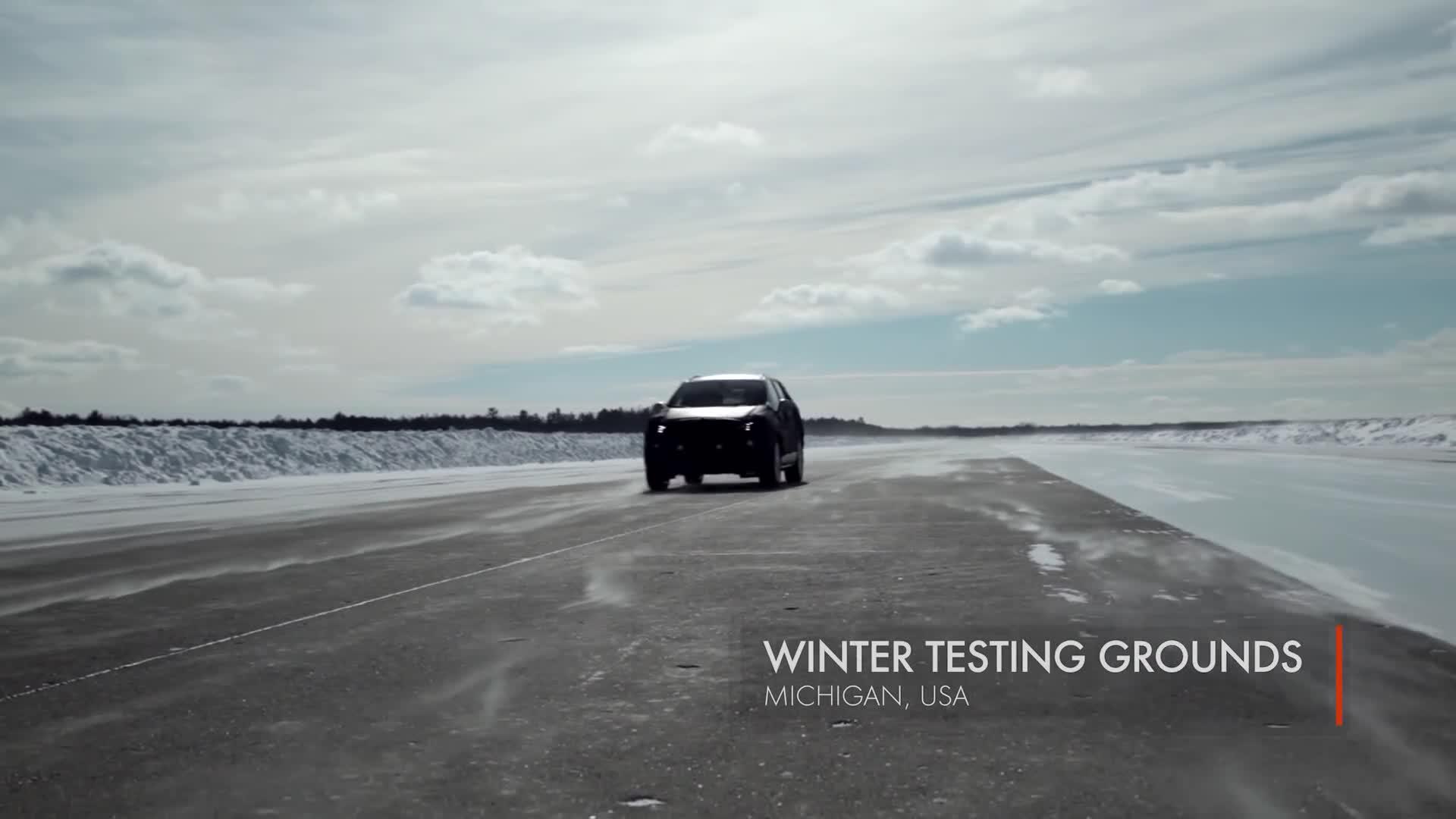 第一辆别克昂科威冰雪天气测试性能