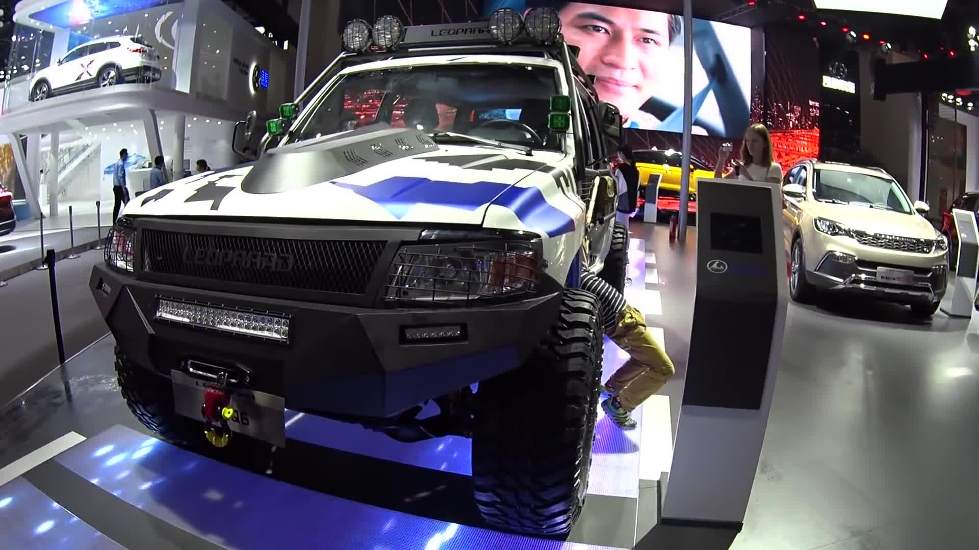 2016北京车展 2017款猎豹Q6改装版