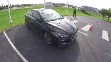 2017款现代伊兰特sport turbo版道路测试