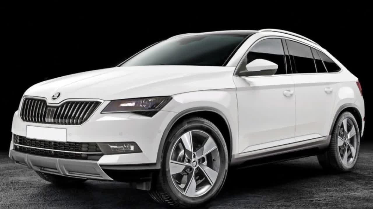 斯柯达全新中型SUV车型KODIAQ Coupe版