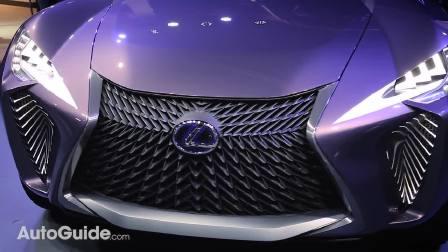 2016广州车展预热 雷克萨斯UX概念车巴黎车展现场观看