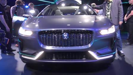电动汽车中的尤物 捷豹I-PACE概念车