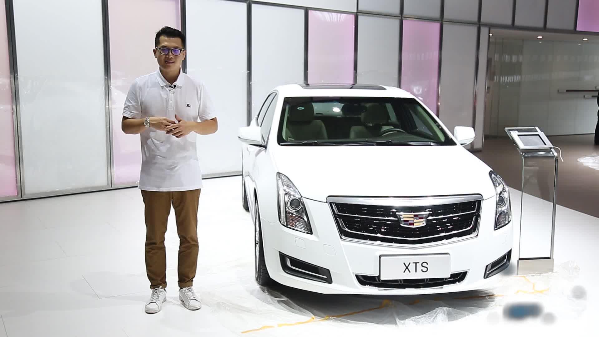 2016广州车展 低调战士凯迪拉克新款XTS