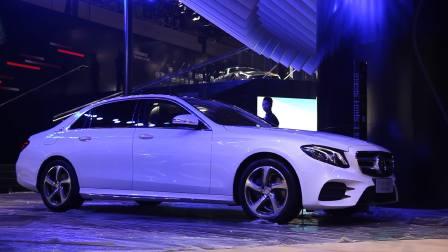 2016广州车展 有长也有短国产新E级标准轴距版