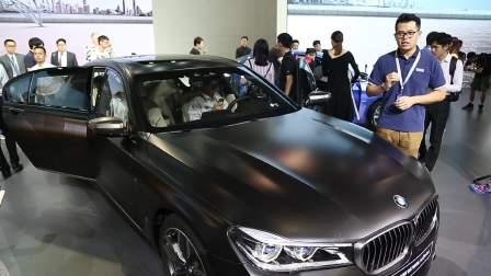 2016广州车展 豪华与性能完美结合 宝马M760LixDrive
