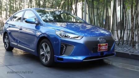 2016款现代IONIQ纯电动车自动驾驶