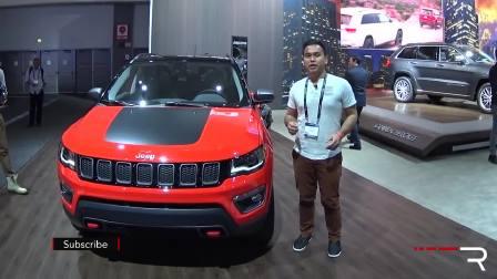 2017款Jeep指南者在2016年洛杉矶车展上展出