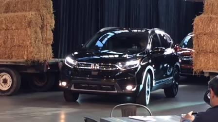 2017款本田CR-V 细节大揭秘