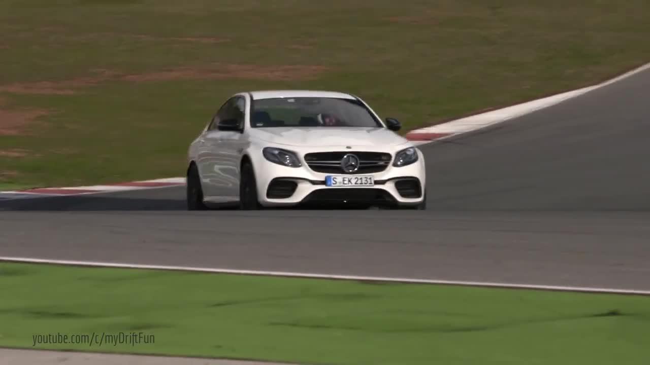 2017款奔驰AMG E63 S 外观更动感