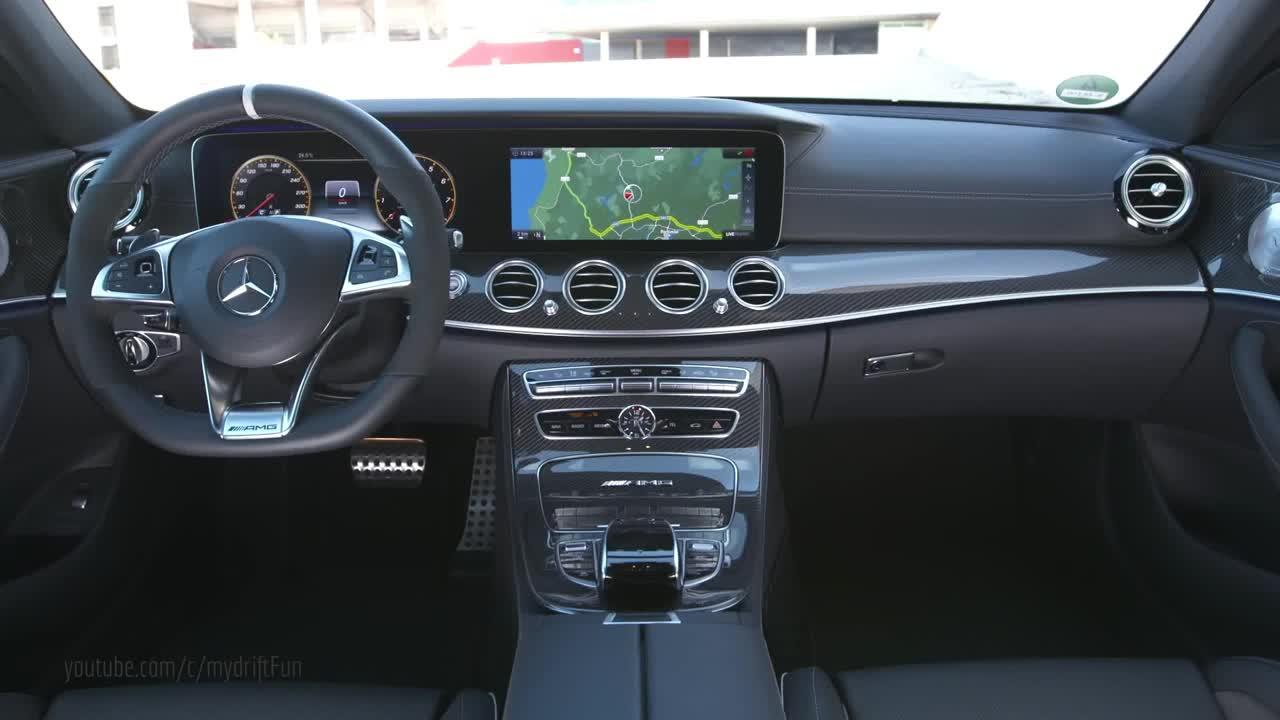 2017款奔驰AMG E63 S 内饰大解析