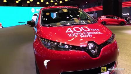 2016巴黎车长上的2017款雷诺ZOE 400公里纯电动续航