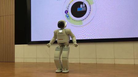 本田ASIMO机器人演示