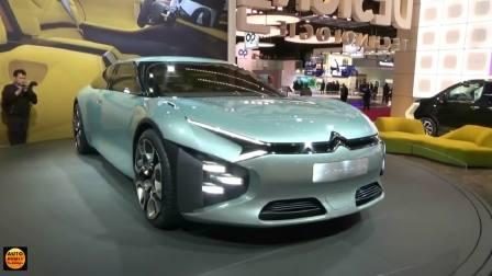 2016巴黎车展上展出的雪铁龙概念车CXPerience