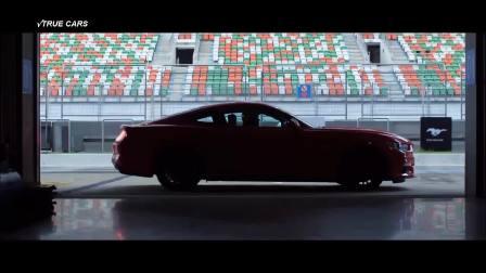 2017款福特野马GT驾驶及外观内饰展示