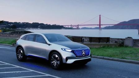 全新奔驰EQ概念车 纯电动SUV
