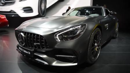 2017北美车展 2018款梅赛德斯奔驰AMG GT C 抢先看