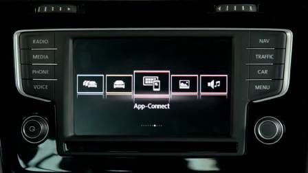 大众 Golf R 旅行轿车 CarPlay系统展示