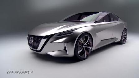 日产全新概念车Vmotion 惊艳亮相展现未来