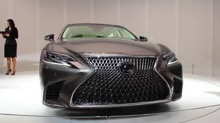 2017北美车展 全新雷克萨斯LS500 惊艳全场震撼出击