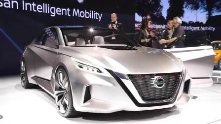 2017北美车展 日产Vmotion2.0引领未来