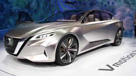 2017北美车展 日产Vmotion2.0科技前瞻