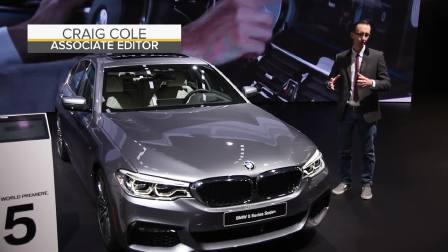 2017北美车展 2018款宝马5系外媒现场评测