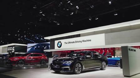 宝马在2017北美车展上展出车合辑