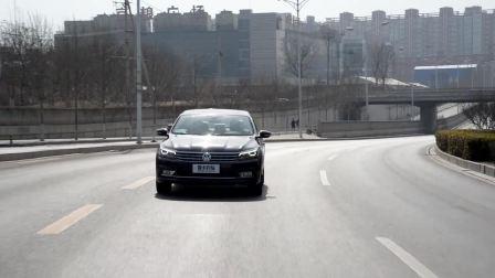 【全车功能展示】 上汽大众帕萨特 车道保持系统演示