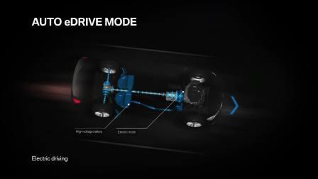 宝马740e插电混动版 混动工作模式展示