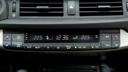 【全车功能展示】 雷克萨斯CT 空调系统展示