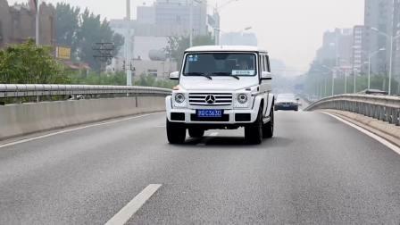 【全车功能展示】 奔驰G级 并线辅助系统展示