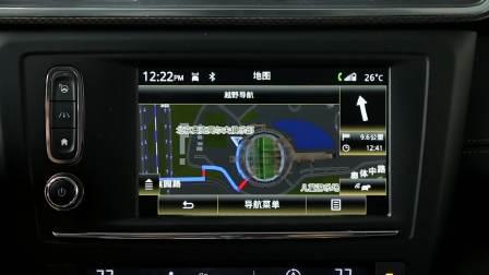 雷诺科雷嘉 导航系统展示