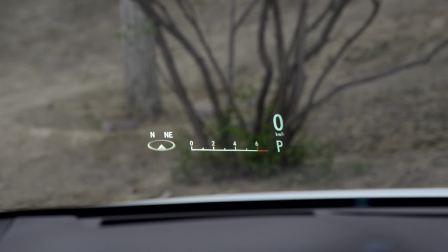 雷克萨斯RX HUD抬头显示展示