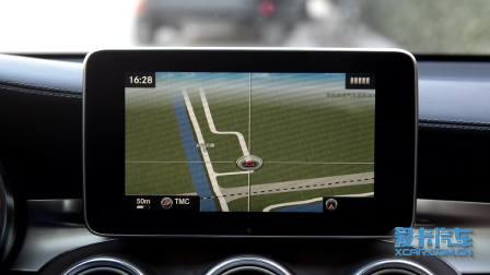 奔驰GLC级 导航系统展示