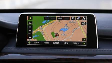 汉腾X7 导航系统展示