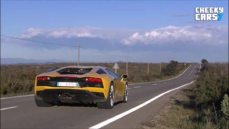 全新2018款兰博基尼Aventador S美妙声音