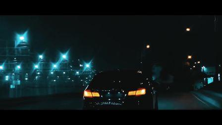 宝马M5疯狂的夜晚疯狂的驾驶
