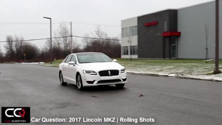 2017款林肯MKZ公路驾驶