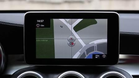 奔驰GLC轿跑SUV 导航系统展示