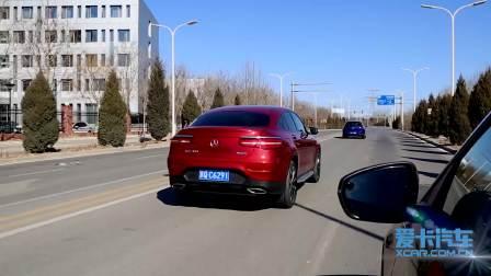 奔驰GLC轿跑SUV 自适应巡航系统展示