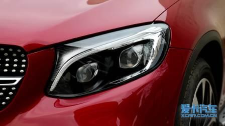 奔驰GLC轿跑SUV 灯光展示