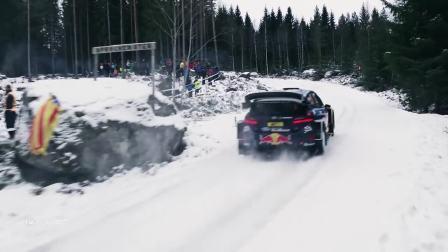2017年瑞典WRC比赛 大疆航拍镜头