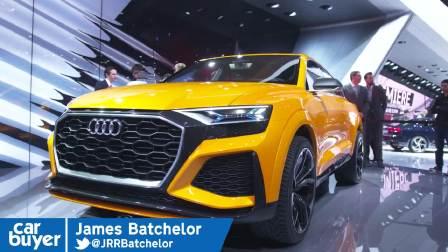 2017日内瓦车展 Audi Q8 Sport Concept walkaround