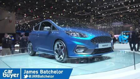 2017日内瓦车展 Ford Fiesta ST walkaround