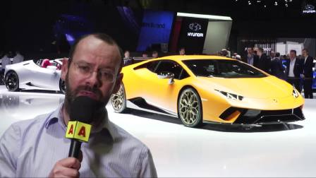 2017日内瓦车展Lamborghini Huracan Performante revealed