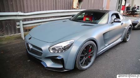 2017日内瓦车展 炸街利器奔驰AMG GTs
