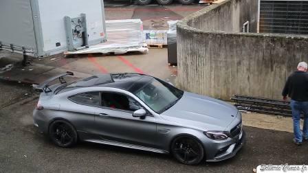 2017日内瓦车展 低调且狂野的AMG C63s