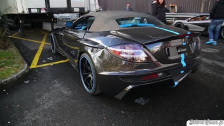 2017日内瓦车展  迈凯伦SLR拨动了心弦
