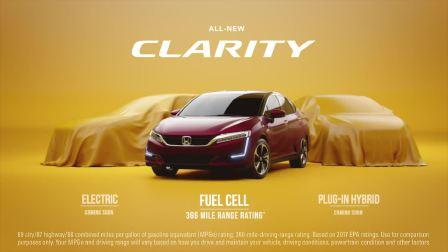 2017款本田CLARITY燃料电池 更快更环保