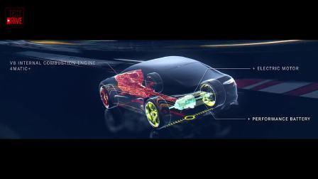 3D动画展示 AMG GT Concept的澎湃动力